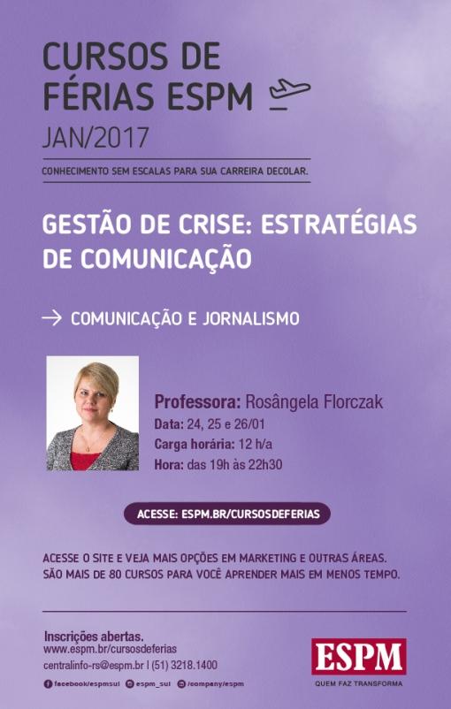 ÁREA_COMUNICAÇÃO E JORNALISMO_Gestão de Crise