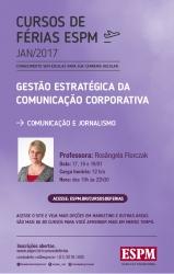 ÁREA_COMUNICAÇÃO E JORNALISMO_Gestão Estratégica